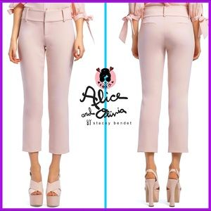 🏷 🆕 Alice + Olivia Light Pink Fitted Pant